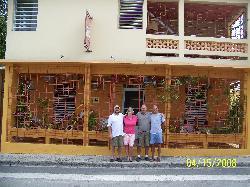 David, Owen, Earl & I at Casa de Amistad
