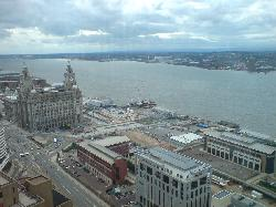 Panoramic bar 0n 34th Floor, West Tower, Old Hall St, Liverpool