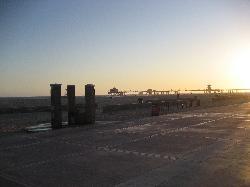 sunset on huntington beach