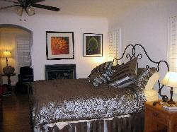 Bedroom in San Clemente Cottage