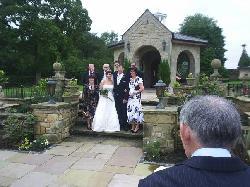 ARE  WONDERFUL WEDDING DAY AT FARRARI'S