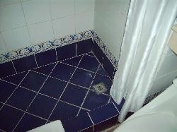 Dirty! Crappy shower area