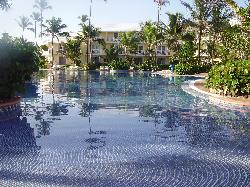 One part of the huge pool!