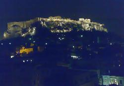 May07 - Night view against Acropolis