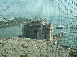 View of Gateway of India from the room