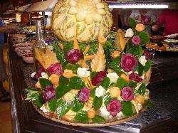 1 décoration d'un buffet