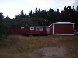 """Front of """"Glacier Cottage"""""""