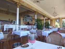 Restaurant de l'hotel Les Roches Rouges