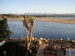 Fantastic waterside setting for breakfast