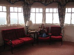 Romantic turret suite or doctors waiting room ?