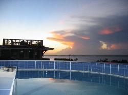 Sunset from the Rooftop Pool