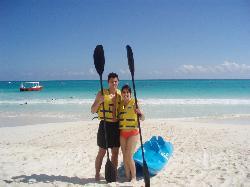 kayak & beach