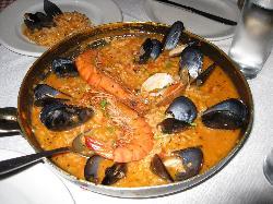 Babulas' Seafood Paella