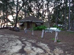 Very nice Yurt, fabric house, after heavy rain