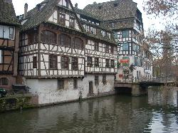 Petit France is an area of town with lots of medieveal character