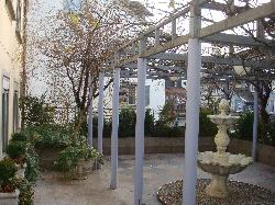 courtyard at 2nd level during winter
