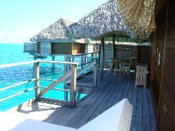 Bora Bora Four Seasons - Balcony