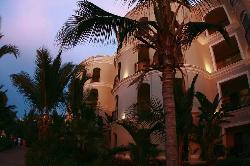 resort at night