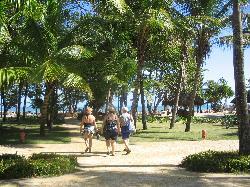 marche vers la plage