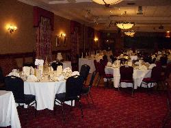 Function suite where the wedding reception was held