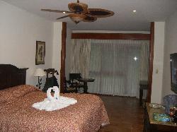 Hotel room at Tabacon resort