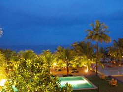 Night view from Room  @ Jetwing Beach, Negombo
