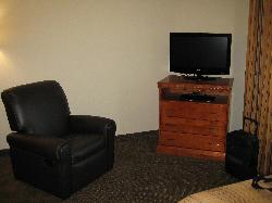 recliner and tv