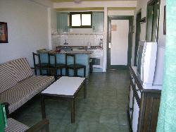 Loung/Kitchen at Castillo del Sol