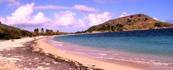 The uncrowded beaches of St. Kitts