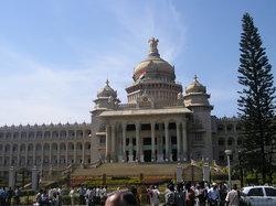 ‪Vidhana Soudha and Attara Kacheri‬