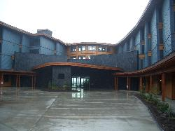 Front of the resort.