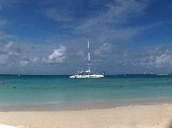 the katamaran we sailed on