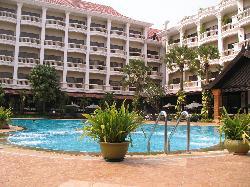 vue hotel de la piscine