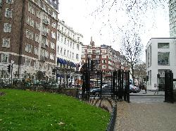 Hotel visto da Hyde Park