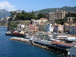Blick vom Hotel auf den Hafen