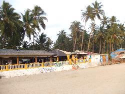 entrance from Beach