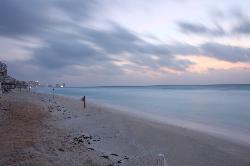 The beach at sunrise 2