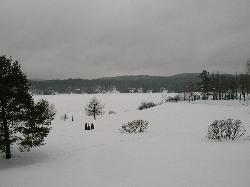 Le lac vue de la chambre