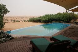 Swimming pool attached to our suite