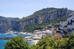Pic we took while hiking around Capri