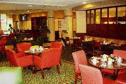 Restaurant off the lobby
