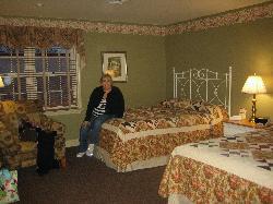 Beautiful quilts Room 704 Kurtz House