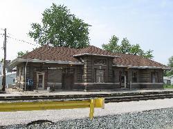Former B&O rail depot, Fostoria