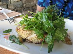 Organic Chicken Lemon, with Fingerling potatoes and herbs, $38