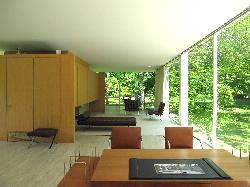Living area of house from the terrace