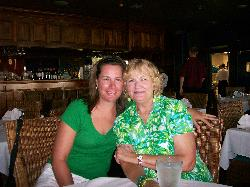 Me and my mom at Louisiana Lagniappe