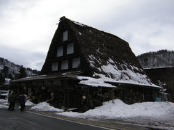 World Heritage Shirakawago Gassho Frame Housing Community