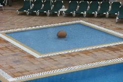 the childrens splash pool