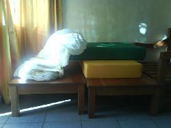 cama del hotel