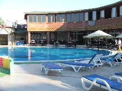 The Pool at Breakfast Time